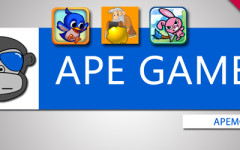 ApeGamer 02: Early Bird, Gold Miner a Bunny Shooter