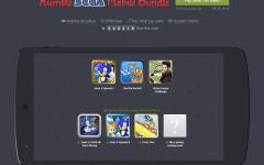 Humble SEGA Mobile Bundle: další várka her!