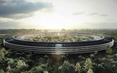 Podívejte se na stavbu Apple Campus 2!