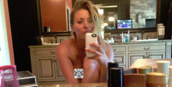 Nakec Kaley Cuoco - leaked pic