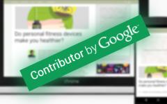 Google Contributor: předplaďte si web bez reklam