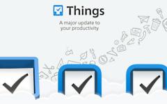 Aplikace Things dočasně zdarma na iOS v promu přímo od Apple